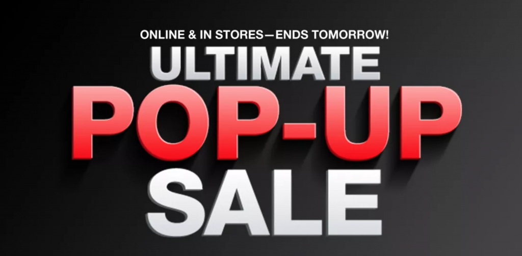 Macy's Ultimate Pop-Up Sale 2018 {Today's Deals}