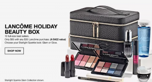 Don't Miss Your Lancôme Holiday Beauty Set