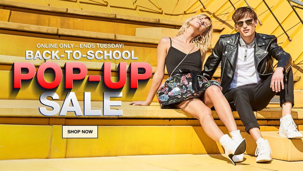 Macy's Back-To-School Pop-Up Sale