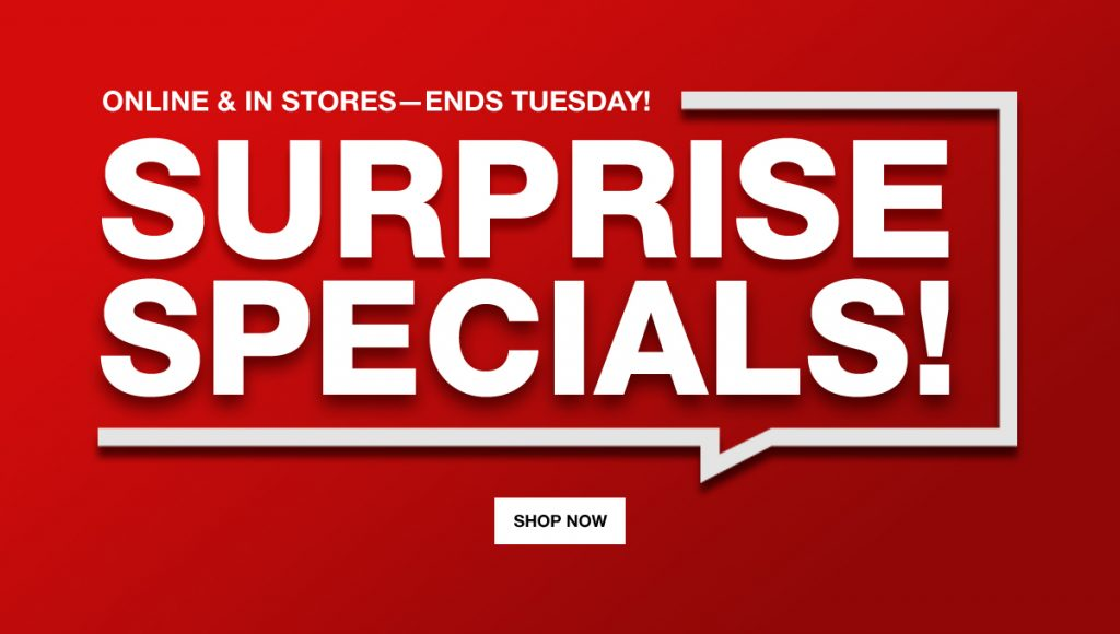 Macy's Surprise Specials
