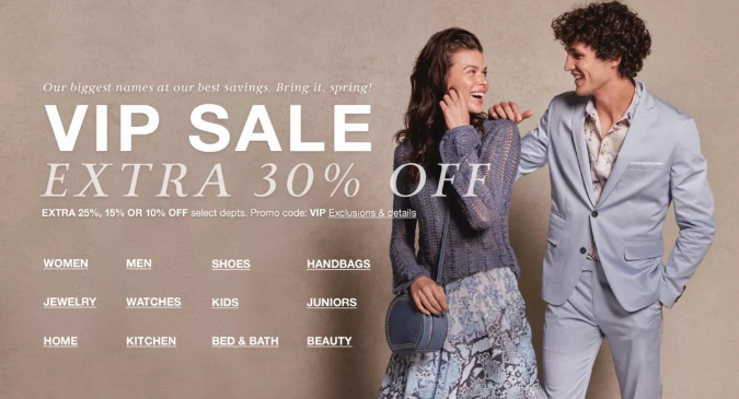 30% off Designer Brands During VIP Sale (1)