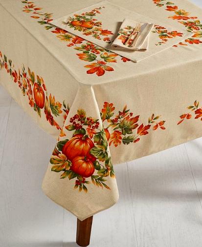 Bardwil Harvest Tablecolth