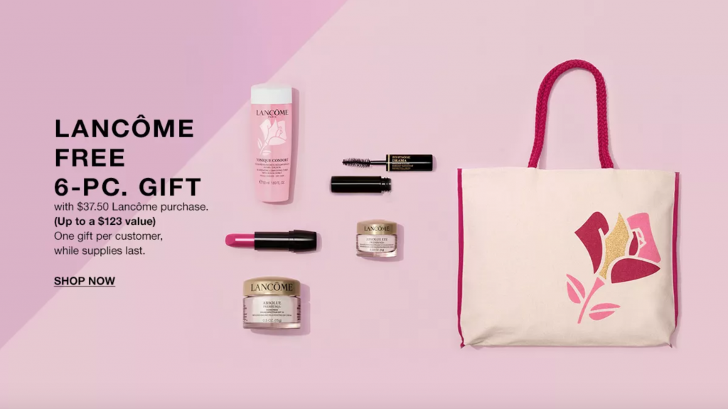 Don't Miss Your Lancôme Beauty Set