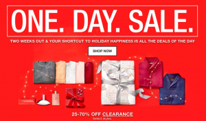 Macy's One Day Sale Doorbusters and Deals {December 2018}