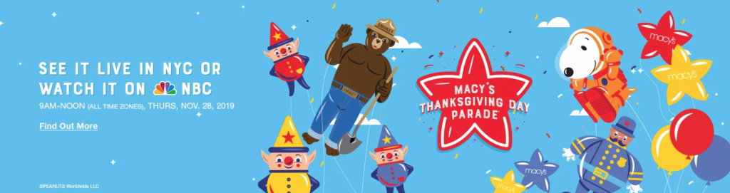 Macy's Thanksgiving Day Parade Info-Everything You Need to Know