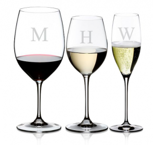 Riedel - Vinum Block Letter Monogram Collection