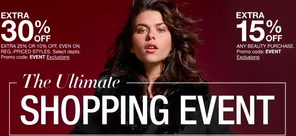 macys ultimate shopping event