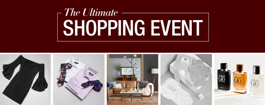 the ultimate shopping event departments