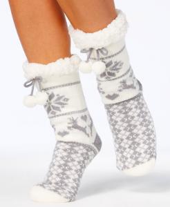 Charter Club Fleece Socks