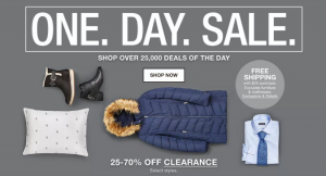 Macy's One Day Sale Doorbusters and Deals {January 2019}