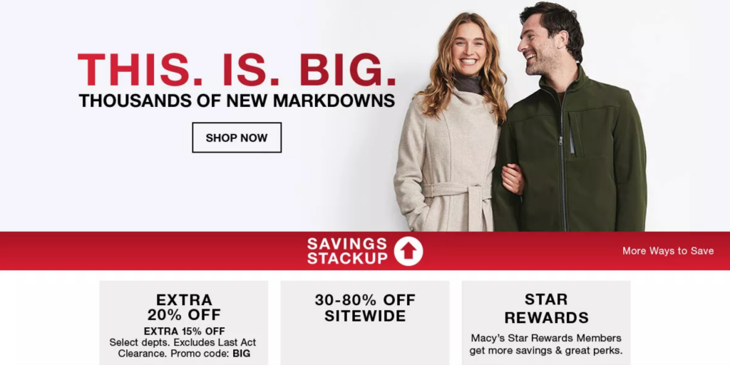 Thousands of Markdowns Sale