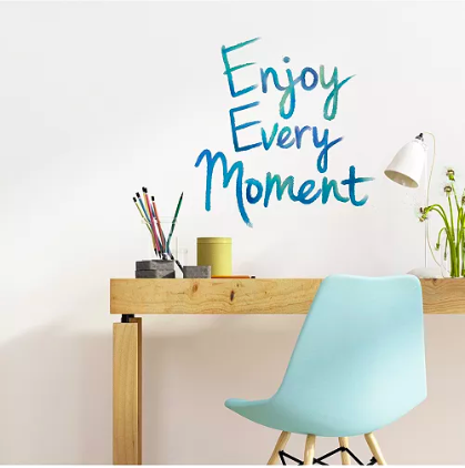 Enjoy Every Moment Wall Quote
