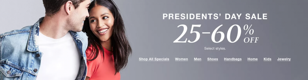 Insider Scoop Macy's Presidents' Day Sale {February 2020}