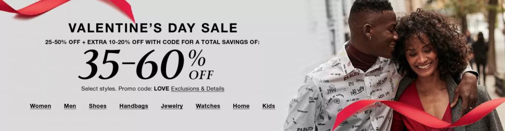 Macy's Valentine's Day Sale