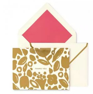 Kate Spade Thank you Card Set