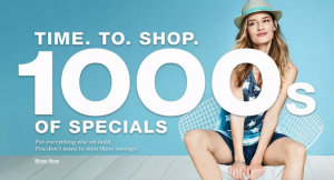 It's Time to Shop! Ways to Save on 1000s of Specials (1)