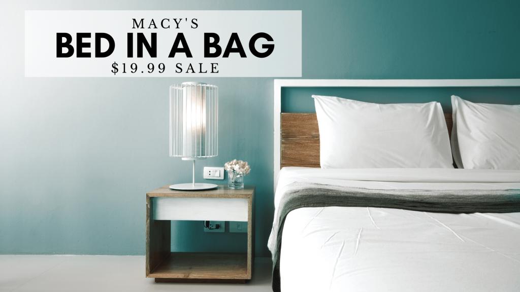 macys bed in a bag sale
