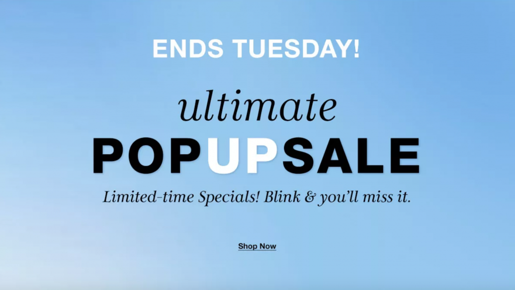 Macy's Ultimate Pop-Up Sale 2019 {Today's Deals}