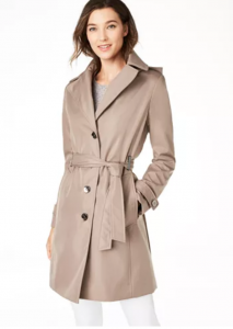 Calvin Klein - Water Resistant Trench Coat