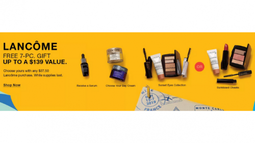 Don't Miss Your Free Lancôme Gift Set (1)