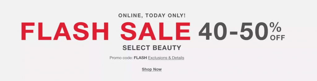 Macys Flash Sale
