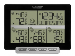 La Crosse Technology - Wireless Time and Temperature Station