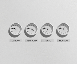 The time zone clock