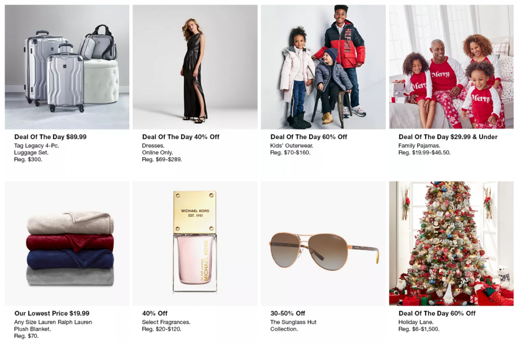 Macy's One Day Sale Doorbusters and Deals
