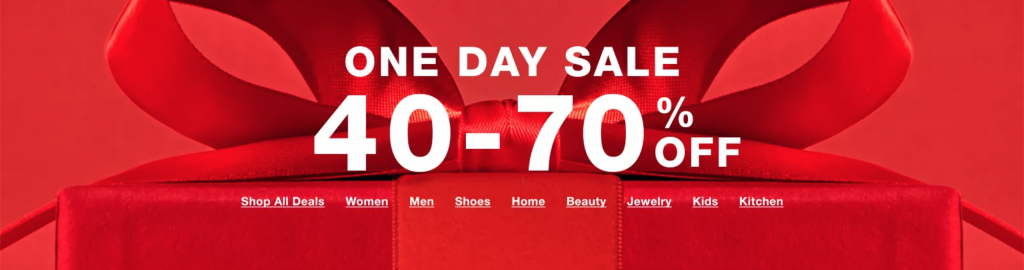 Macy's One Day Sale Doorbusters and Deals {December 2019}