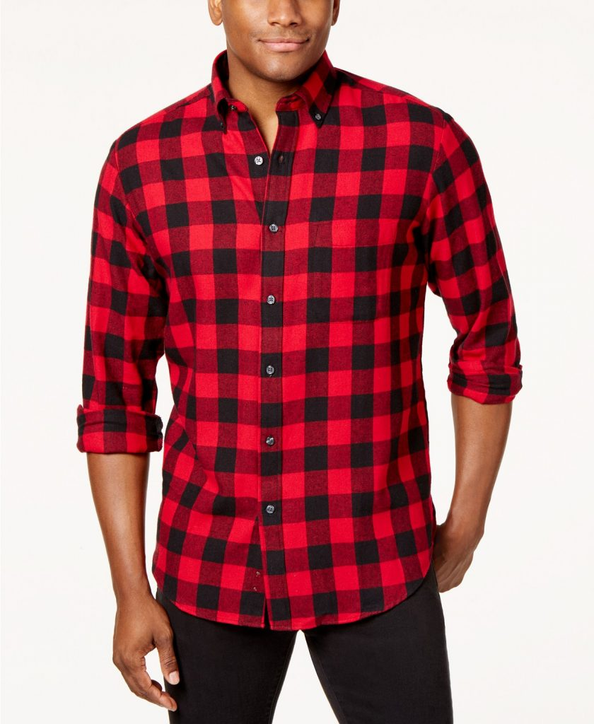 men's club room flannel