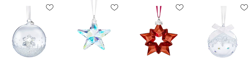 2019 annual edition swarovski ornaments