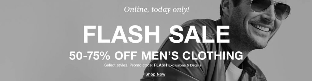 Macy's Flash Sale