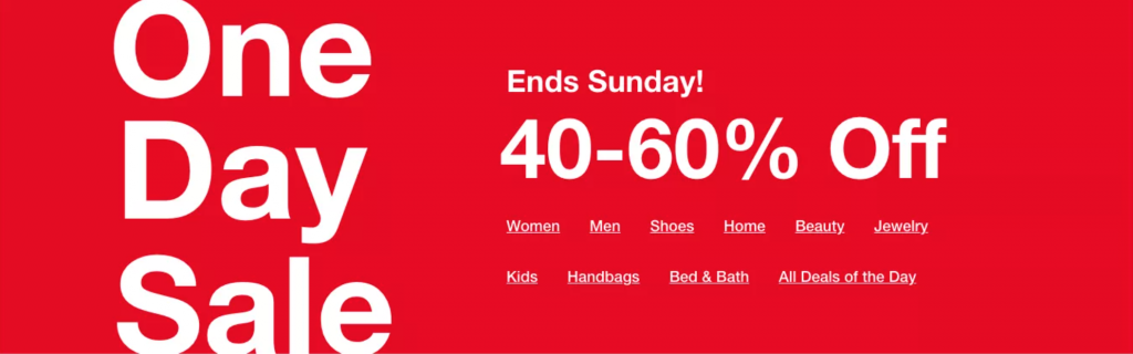 Macy's One Day Sale Doorbusters and Deals {June 2020}