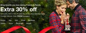 macys friends & family sale November 2020