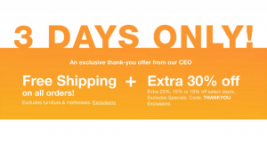 Macy's 3-Day Sale