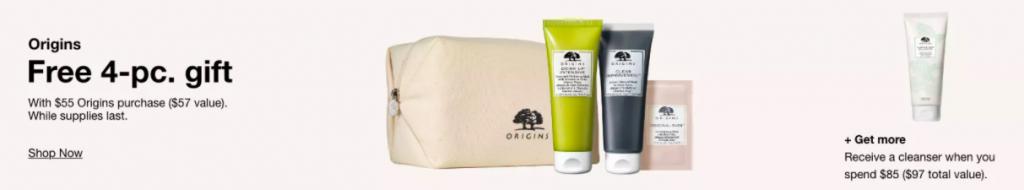origins free gift at Macy's